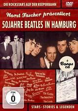 DVD CD 50 años Beatles en Hamburgo de horst Fascher DVD y CD Set