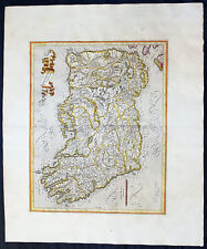 1628 Gerard Mercator Original Antique Map of Ireland - Irlandiae Regnum