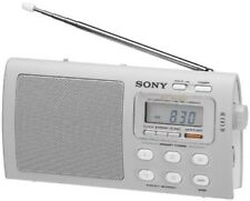 NEW Sony Liv Portable 4-Band TV/Weather/FM/AM Clutch Radio ICF-M410LIV3