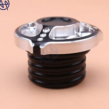 1pcs Motor Oil Fuel Gas Tank Oil Cap Cover for Harley Dyna Fatboy Night Train