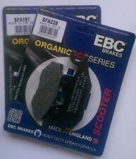 SUZUKI AN250/AN400 (2007 en ) EBC Organic Pastillas de freno frontales