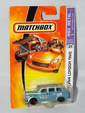 Matchbox  06 07 MBX Metal #33 Austin FX4 London Taxi  Mtflk Light Blue