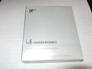 IT Cosmetics Hello Cheekbones Bronzer & Highlighter Contouring Duo Love/Matte