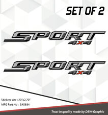 4X4 SPORT OFFROAD DECAL STICKER FOR 2015 2016 FX4 F150 F250 F350 RANGER SA0884
