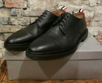 Thom Browne Black Pebbled Leather Derby Shoes Size 11US Size 10UK