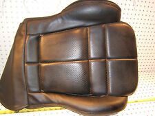 Mitsubishi 94 3000GT Front LEFT Driver Seat Lower Black Vinyl OE 1 Cushion/Cover
