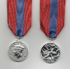 IMPERIAL SERVICE MEDAL GEO.VI - A SUPERB FULL-SIZE DIE-STRUCK REPLICA.