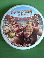 """Frisbee Discraft """"Gladiatori di Roma 3 D"""" da Collezione Raro Gadget Originale"""