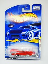 # 1/64 HOT WHEELS - 2001 FIRST EDITIONS 32/36 '57 ROADSTER - CARD LUNGA #