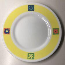 Lot1 De 6 Petites Assiettes Plates Vintage Arcopal France D 19,8 Cm