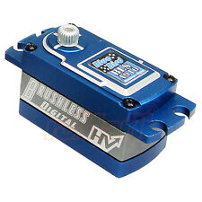 Blue Bird Aluminum Wide Voltage Digital Brushless Low Profile Servo #BLS-A910