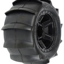 Pro-Line 1179-11 Sling Shot 3.8 Sand Paddle Tires On Desperado Rims (2)
