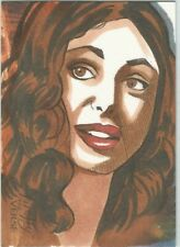 Firefly The Verse One Of A Kind Sketch Card FREE S/H Artist Tina Berardi
