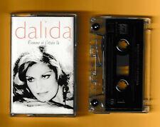 Dalida cassette . Comme si j'étais là. rare