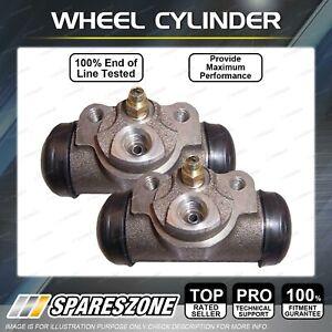 2 Rear Wheel Cylinders LH+RH for Chrysler Valiant/Charger AP5 AP6 CL RV SV VC VE