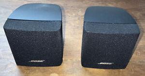 Bose Acoustimass Single Cube Speaker x2