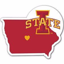 NCAA Iowa State Cyclones Home State Auto Car Window Vinyl Decal Sticker