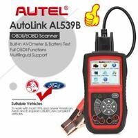 Autel AL539B Battery Tester OBD2 OBDII Fault Code Reader Diagnostic Tool AVOmete