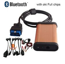 Diagnostic tool autocom cdp pro OKI Chip obd2 airbag diagnostic+Keygen+Bluetooth
