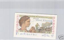 BANQUE DE L'INDOCHINE DJIBOUTI 100 FRANCS SPECIMEN ND PCK 19 A N° 2 RARE !!!