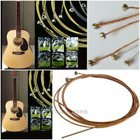 150XL/304mm Set of 6 Steel Strings for Acoustic Guitar Accessories Hot Sale!