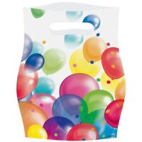 Multi Colour Balloon Fiesta Birthday Celebrations Party Favour Loot Bags