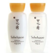 Sulwhasoo Essential Balancing Water+Emulsion 15 ml set X 8 sets (total 16pcs)