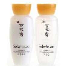 Sulwhasoo Essential Balancing Water+Emulsion 15 ml set X 4 sets (total 8pcs)