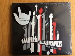 Quik Sessions Live Music 2007 Various Artists CD QuikSilver Brand New ULTRA RARE