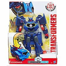 Transformers Robots in Disguise Hyper Change Heroes Soundwave - New in stock