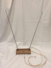 Vintage AMPHENOL TV/Radio Telescoping Rabbit Ear Antenna/Retro plastic case~ EL1