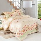 Rose Garden Double Queen King Size Bed Set Pillowcases Quilt Duvet Cover AU