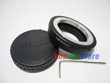 Leica M39 L39 Lens to Nikon 1 J1 J2 J3 J4 S1 V1 V3 AW1 adapter adjustable + CAP