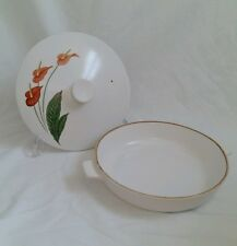 ❀ڿڰۣ❀ NORITAKE PROGRESSION Summer Bloom SHALLOW TUREEN / CASSEROLE DISH ❀ SALE