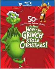 How the Grinch Stole Christmas (2009, REGION A Blu-ray New) BLU-RAY/WS/Deluxe ED