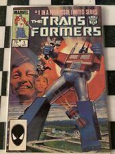 transformers 1 comic 1st Print, 1st App Autobots Megatron Fine .99 Auction
