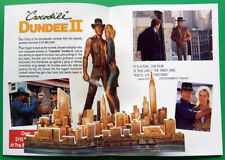 CROCODILE DUNDEE II__Original 1988 Pop-up Bi-Fold / 3D video PROMO__Paul Hogan