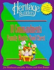 Ten Commandments: Family Nights Tool Chest (Heritage Builders)