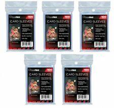 Ultra Pro lot de 5 x 100 pochettes protèges cartes 500 Store Safe Sleeves JCC