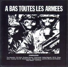 A BAS TOUTES LES ARMEES RARE CD anarchiste antimilitariste QUASI INTROUVABLE