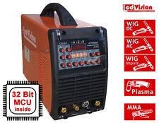 5in1 Pro Multi-205-II AC/DC Schweißgerät WIG TIG AC/DC Puls + MMA + Plasma 200A