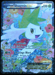Pokemon -  Shaymin  EX - Legendary Treasures  - RC21/RC25