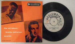 The Art Tatum-Buddy DeFranco Quartet.Rare 1957 Jazz EP. SEB 10101. Ex