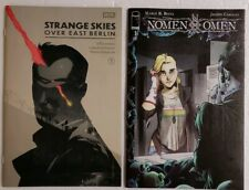 🔥🔥 NOMEN OMEN #1 STRANGE SKIES OVER EAST BERLIN #1 BOOM IMAGE COMICS LOT