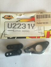 Schumacher Racing Servo Horns U2231Y MEGA REDUCTION!