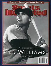 2002 Ted Williams Boston Red Sox A Tribute Sports Illustrated Commemorative
