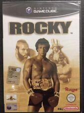 Nintendo GameCube Cube WII Rocky (Stallone/Balboa)  NUOVO FACTORY SEALED >ITA<