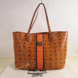 AUTHENTIC MCM Visetos Shopper Bag + Dust Bag
