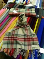 100% Lambswool Wide Scarf | Lochcarron | Made in Scotland | Stewart Eve Stole