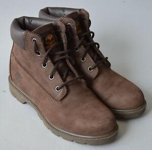 Ladies,Boys,Unisex Brown Timberland Waterproof Boots Size UK 4.